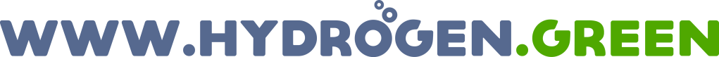 Logo of the valuable digital real estate www.hydrogen.green. This domain name is for sale.
