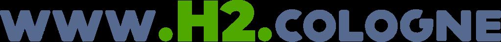 www.h2.cologne domain logo