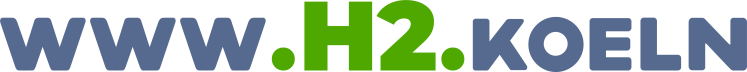 www.h2.koeln domain logo