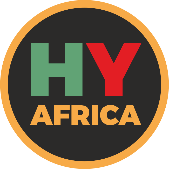 www.hy.africa domain name and logo for sale.