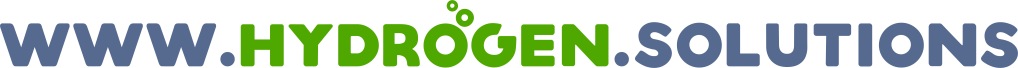 Logo for www.hydrogen.solutions domain name.