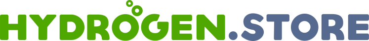 www.hydrogen.store domain name and logo.